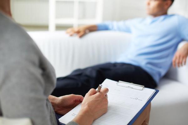 Psicologa com paciente