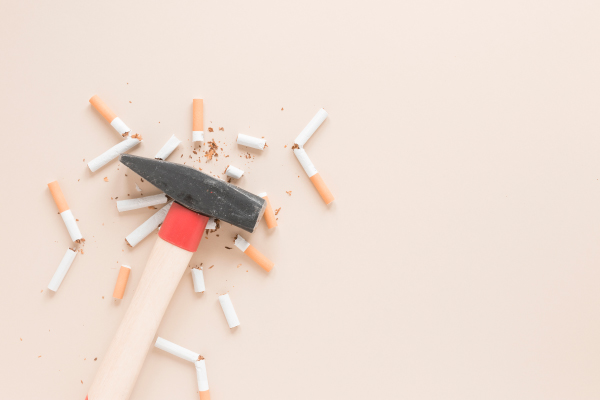 convivendo com fumantes